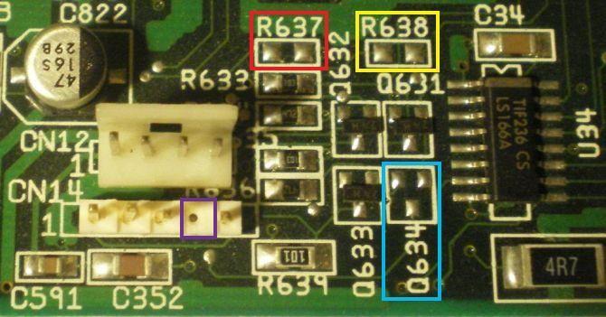 LED PCMCIA A1200