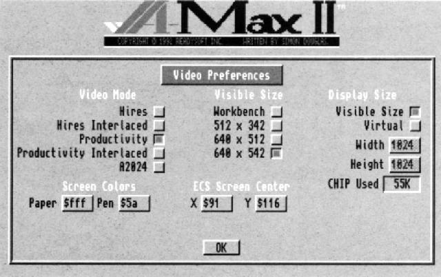 A-Max II Plus