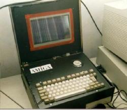 Amiga 600 portable de Volker Mohr