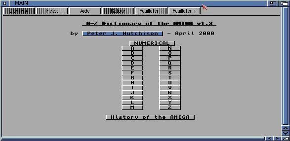 Amiga A-Z