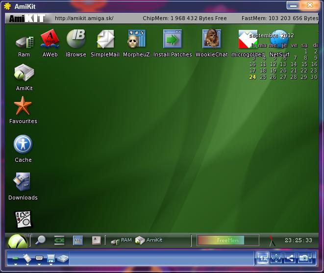 Amiga Forever 2012