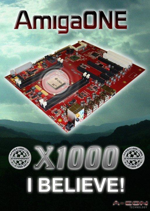 genèse de l'AmigaOne X1000