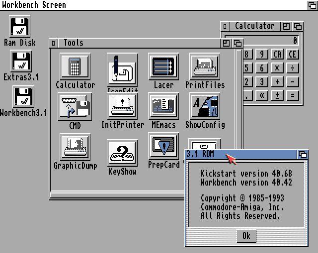 AmigaOS 3.1