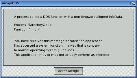 DOS AmigaOS 4.0