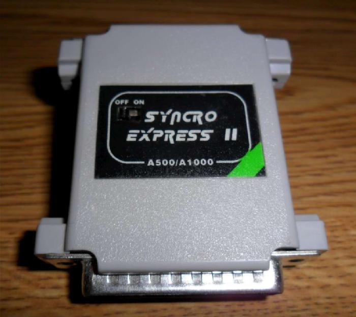 Amiga Synchro Express 2