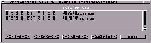 SCSI de la carte Blizzard 1230 IV