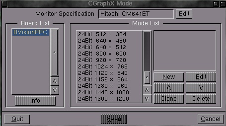 CGXMode