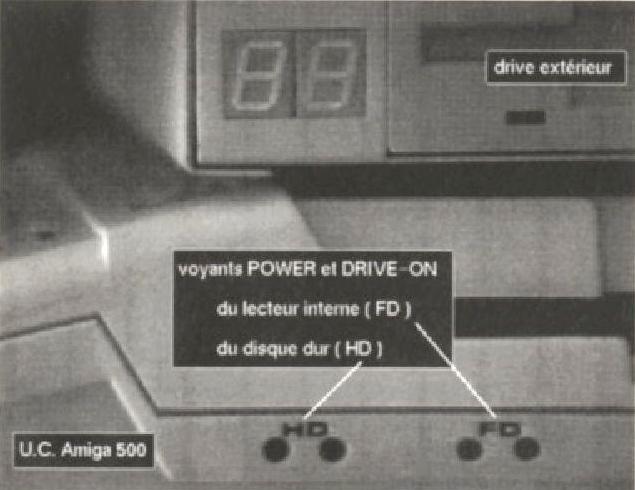 Clavier séparé pour A500