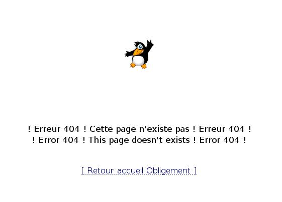 Page 404 sur obligement.free.fr