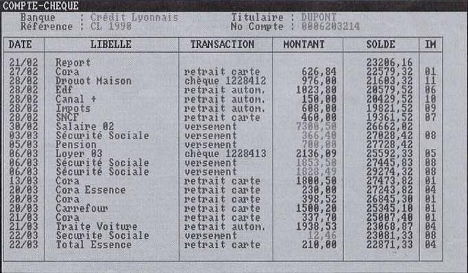 Compte-Chèque