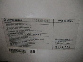 Moniteur 1083SD