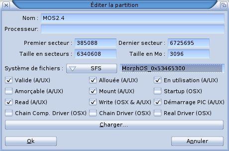 Démarrer MorphOS sur un clé USB
