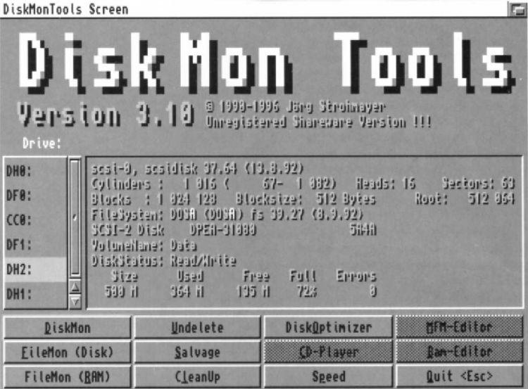 DiskMon Tools