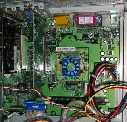 Carte mère  ATX AmigaOne équipée d'un processeur PowerPC G4