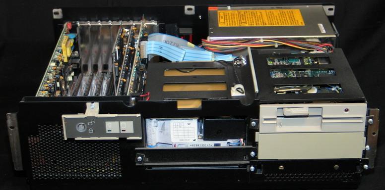 IBM PC/AT intérieur
