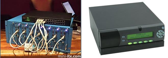 Serveur et boîtier Mini-Box M 300 LCD