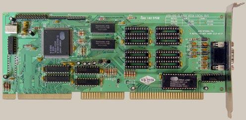 IBM PC Baby AT VLB et SVGA