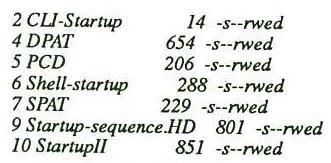fichiers script