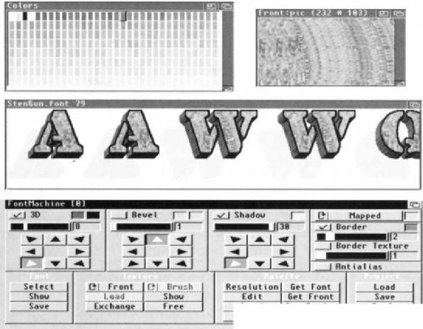Font Machine