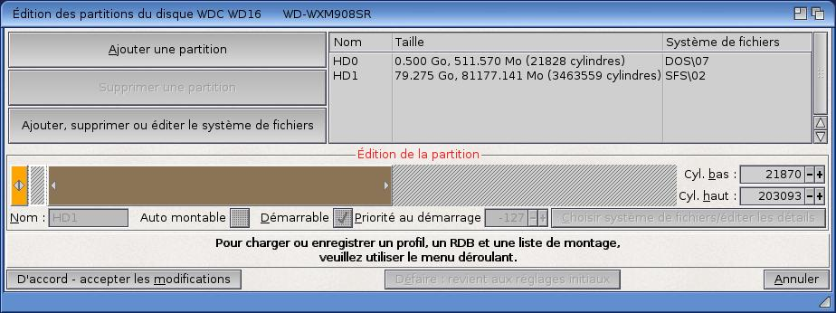 formater Sys: AmigaOS 4