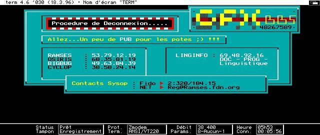 Créer un BBS