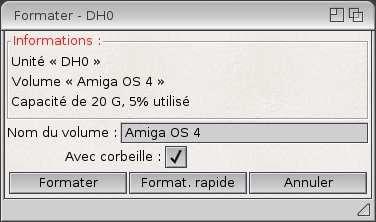 AmigaOS 4.1 sur Sam440ep