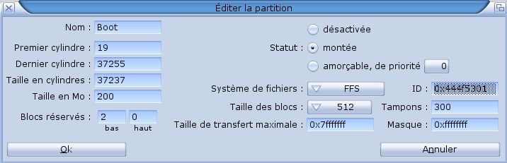 Installation MorphOS 2.5