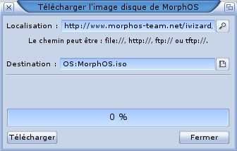 Installation MorphOS 2.6/2.7