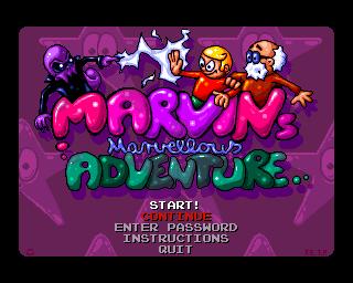 Marvin's Marvellous Adventure