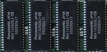 mémoire Chip