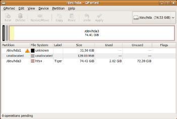 MorphOS et Mac OS X sur Mac mini