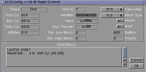 SCSIConfig