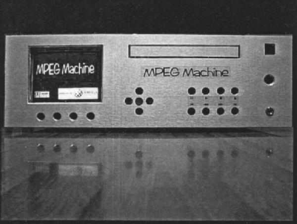 MPEG Machine - boîtier