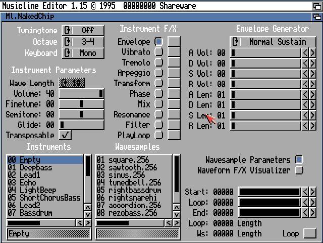 MusicLine Editor