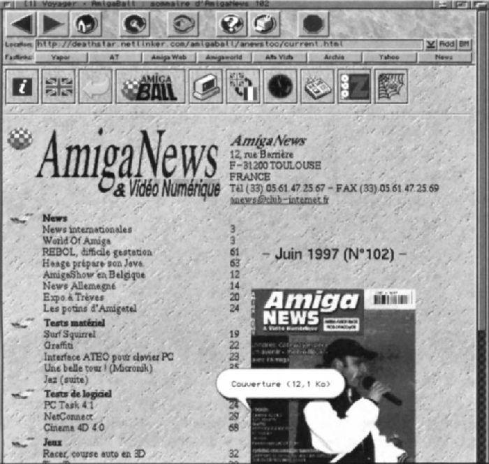 Navigateurs Amiga