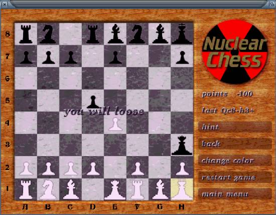 Nuclear Chess