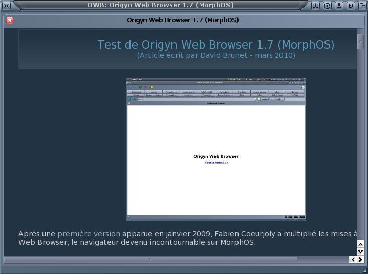 Origyn Web Browser