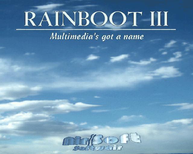 Rainboot 3