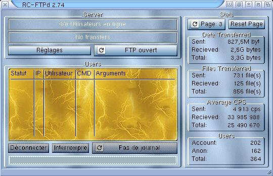 RC-FTPd 2.74