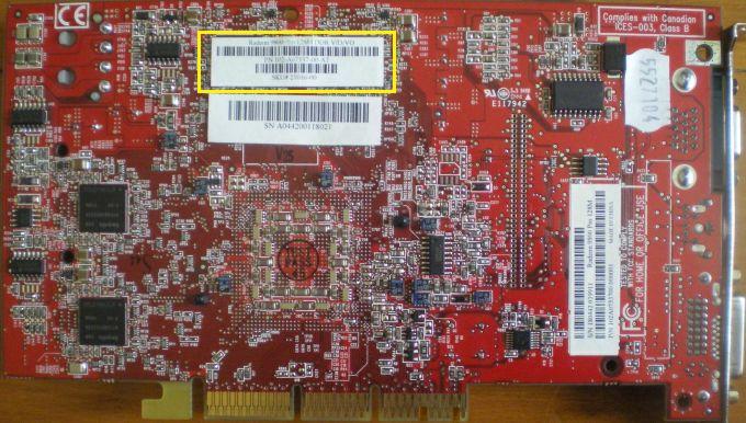 Refroidissement Radeon 9800 Pro