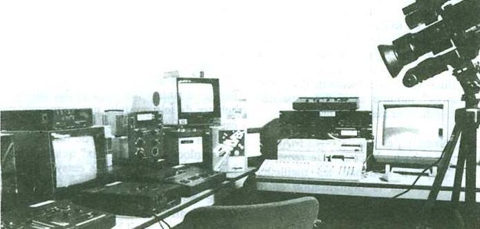 régie vidéo Amiga 2000