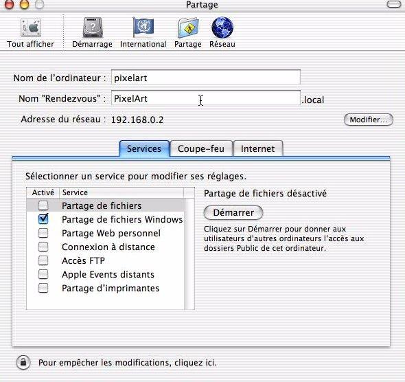 Réseau Amiga/Mac via Samba