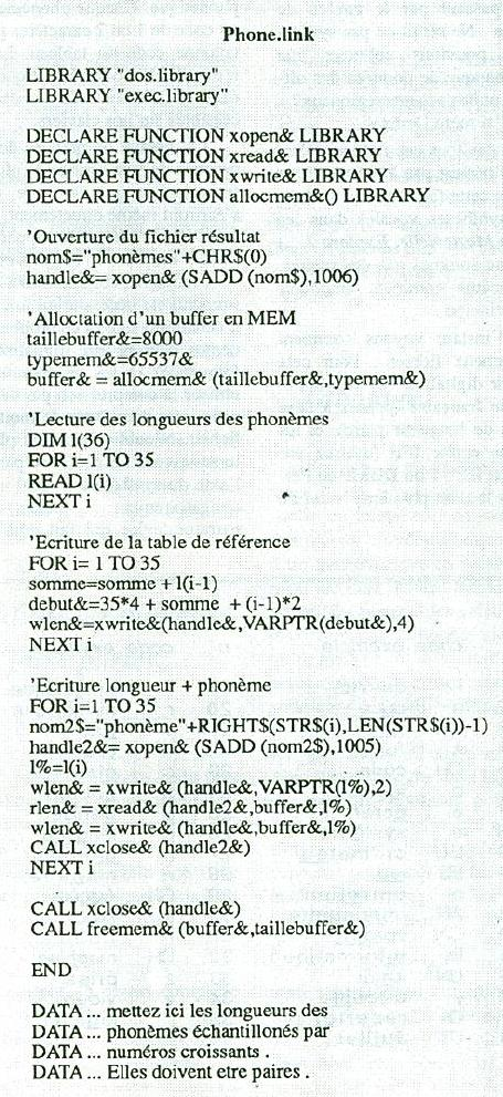 synthèse vocale