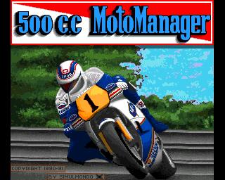 500 c.c Moto Manager