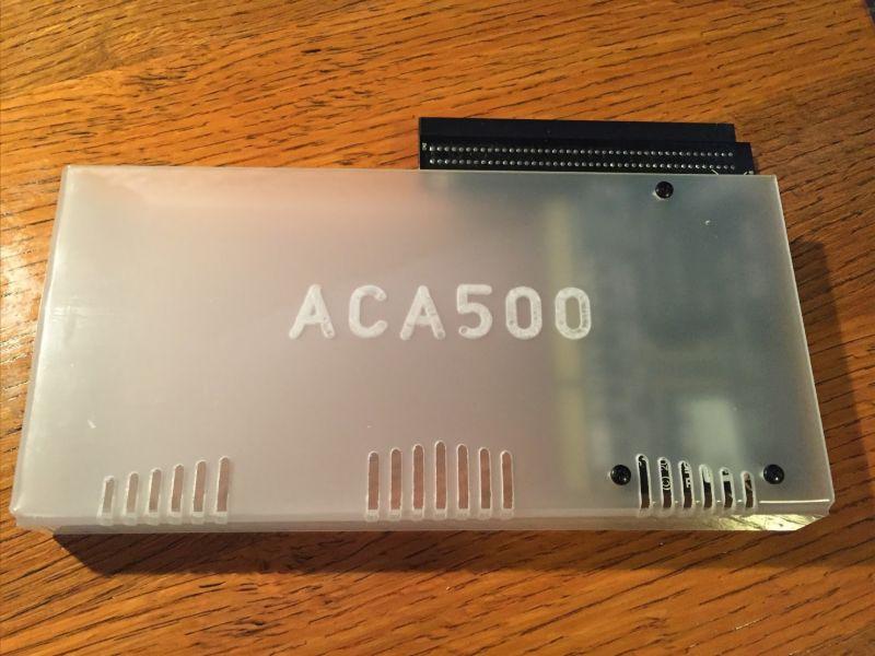 ACA500 sur Amiga 1000