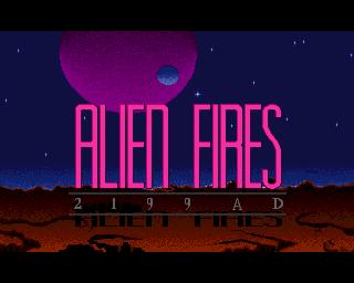 Alien Fires 2199 AD