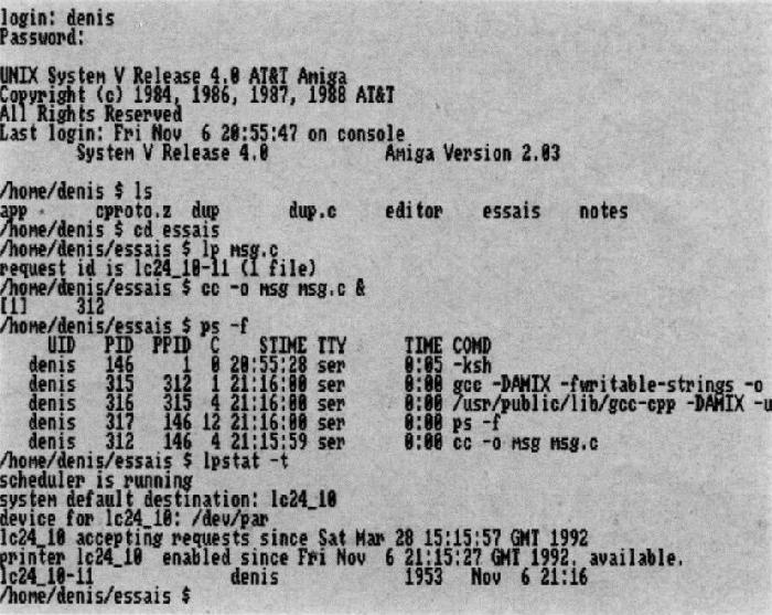 Amiga 3000UX