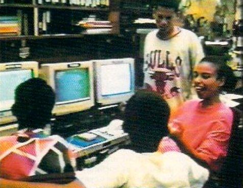 Amiga dans les écoles américaines