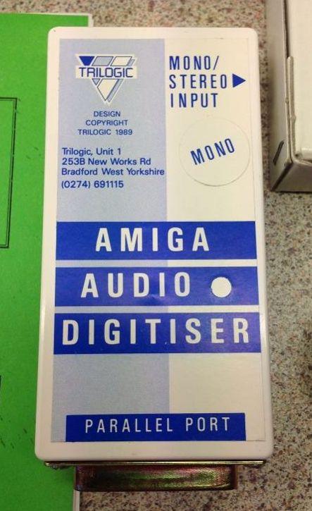 Amiga Audio Digitiser