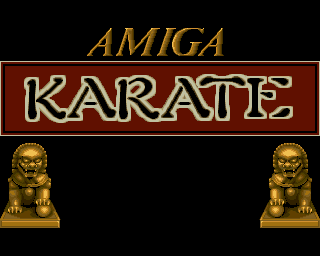 Amiga Karate